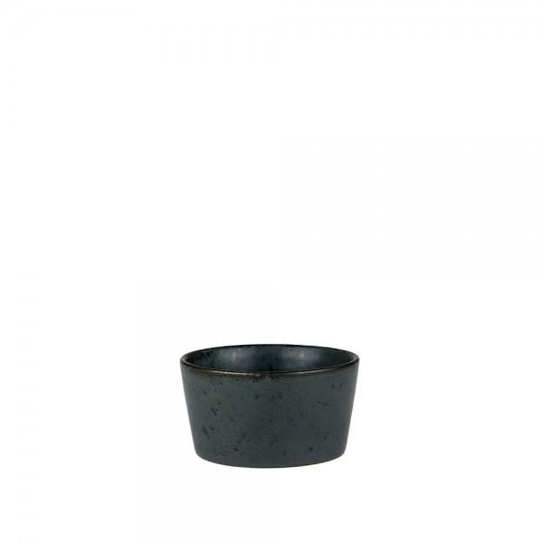 Ramequin-Form 9 x 4,5 cm Steingut Schwarz
