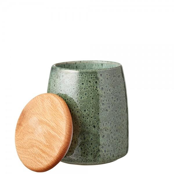 Gefäss mit Deckel 16,5 cm Grün BITZ