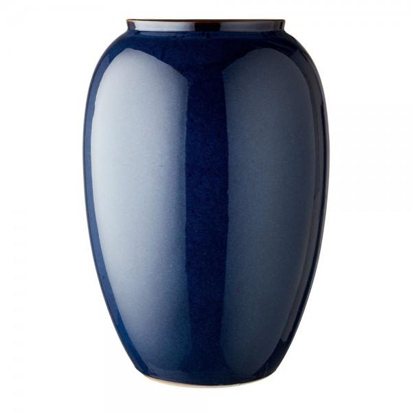 Vase x 50 cm Steingut Blau
