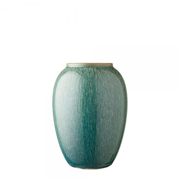 Vase x 20 cm Steingut Grün