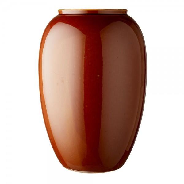 Vase x 50 cm Steingut Amber