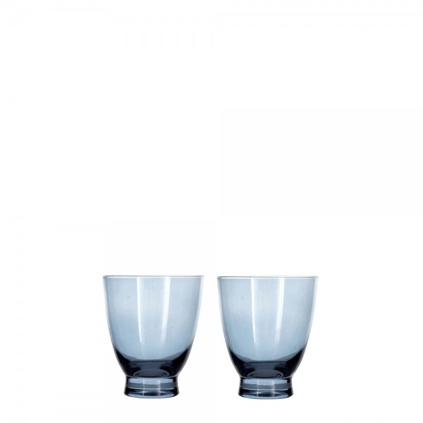 Wasserglas 25 cl 2 Stück Blau