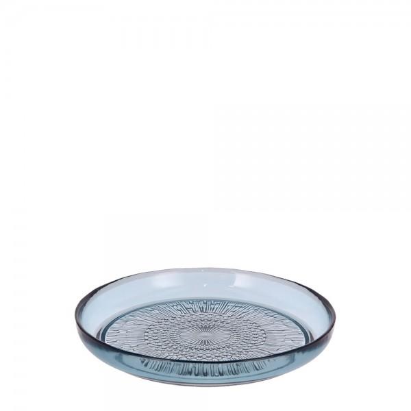 Glasteller Kusintha 18 cm Blau