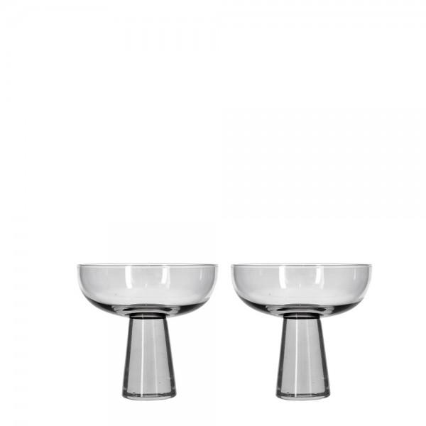 Champagne-Set 2 Stück 27,5 cl kristallklar