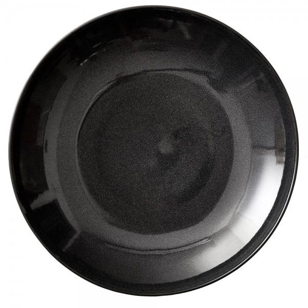 Geschirr D40cm Schwaarz/Schwarz