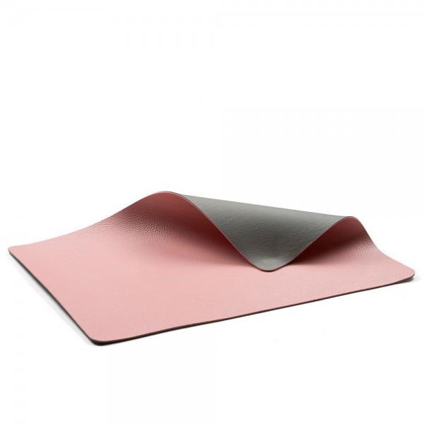 Tischset 46x33 4 Stck. Grau/Light pink