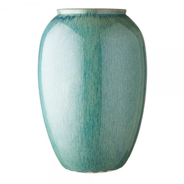 Vase x 50 cm Steingut Grün