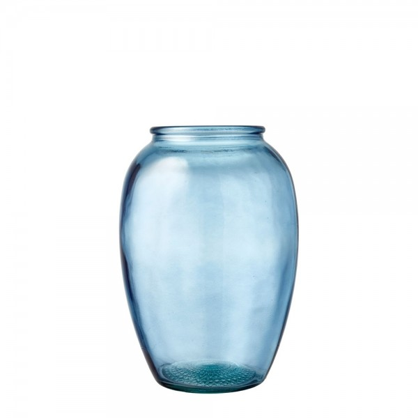 Kusintha Vase 25 cm Blau BITZ