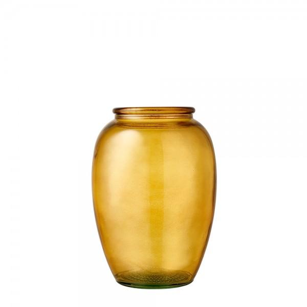 Kusintha Vase 20 cm Amber BITZ