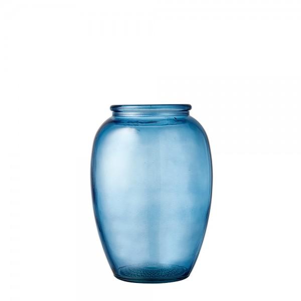 Kusintha Vase 20 cm Blau BITZ