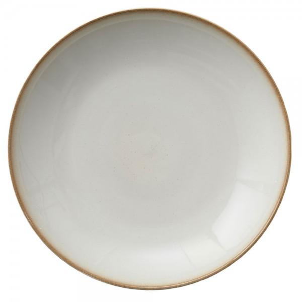 Platte 40 cm Creme/Creme
