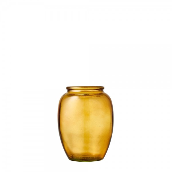 Kusintha Vase 13 cm Amber BITZ