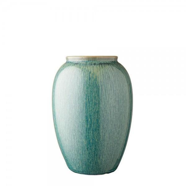 Vase x 25 cm Steingut Grün