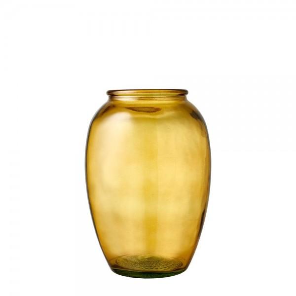 Kusintha Vase 25 cm Amber BITZ