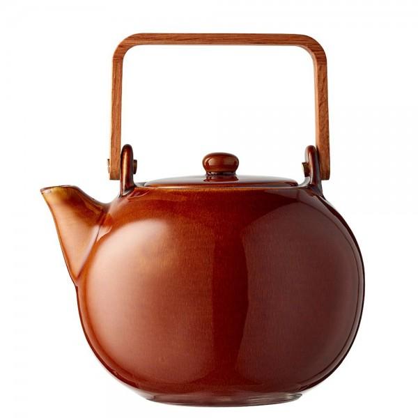 Teekanne 1,2 Steingut Amber